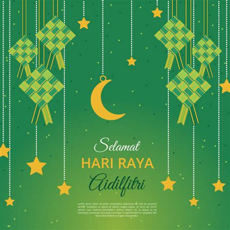 aidilfitri greeting card vector template   vectors clipart graphics vector art