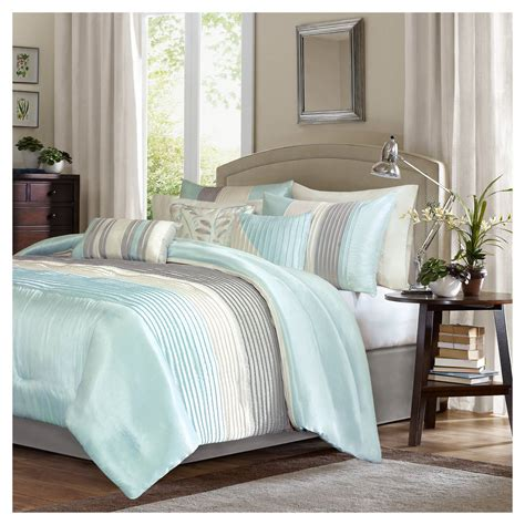 Set Salem salem pleated comforter set 7pc ebay