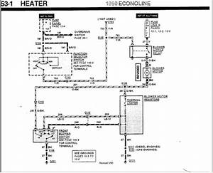 2003 Ford E250 Heater Wiring Diagram