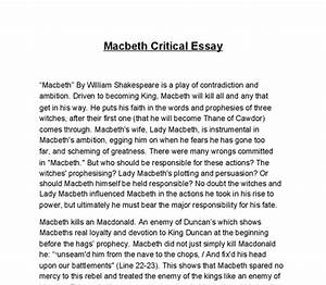 Lady Macbeth Essays Brief Research Proposal Lady Macbeth Essay  Lady Macbeth Monologue Essay Example