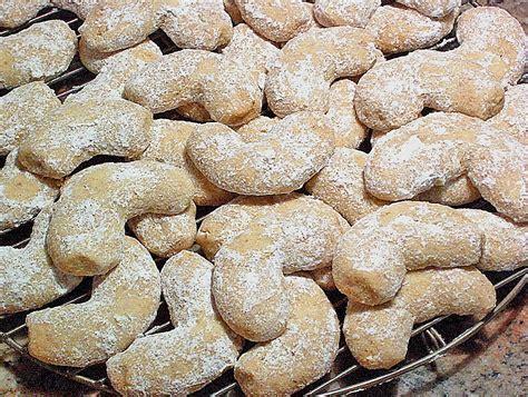 vanillekipferl rezept ohne ei vanillekipferl ohne ei traude chefkoch de