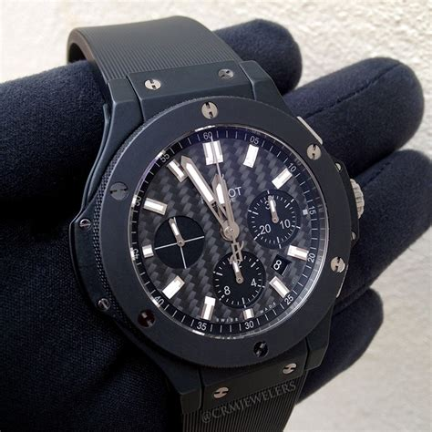 Hublot Bigbang Black Brown hublot big black magic crm jewelers miami fl