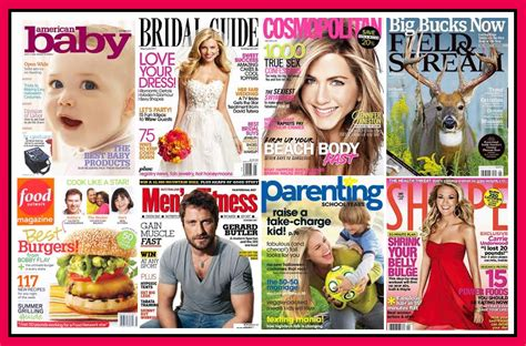 picture magazine subscription free magazine subscriptions cosmopolitan parenting food network more 171 saved by the sale
