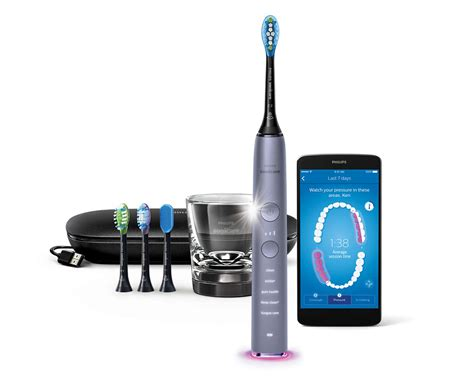 DiamondClean Smart Sonic electric toothbrush with app