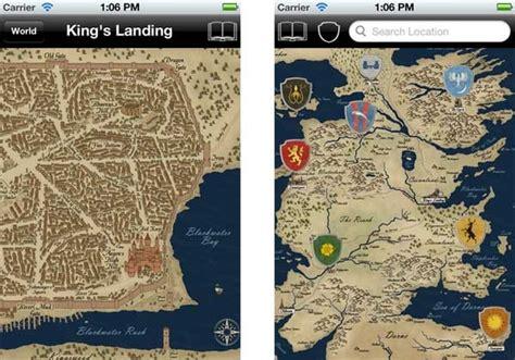 Westeros Map, El Mapa De Juego De Tronos En Tu Móvil