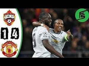 Manchester United vs CSKA Moscow 4-1 Extended Highlights ...