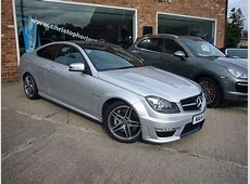 Mercedes Benz C63 AMG Coupe for sale Christopher Jackson Ltd