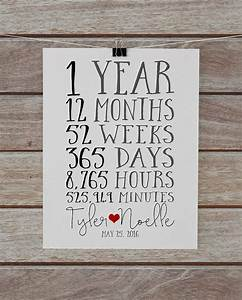 first anniversary together 1 year anniversary gift for With 1 year wedding anniversary gift