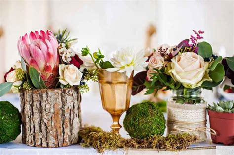 10 budget friendly centrepiece ideas easy weddings uk