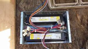 2 Door Freezer Lights  What The Light Ballast Box Looks