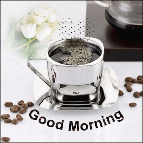 #coffee #purple #good morning #breakfast #sunny. Good morning coffee~☕️🌷💕 | Good morning gif, Morning gif