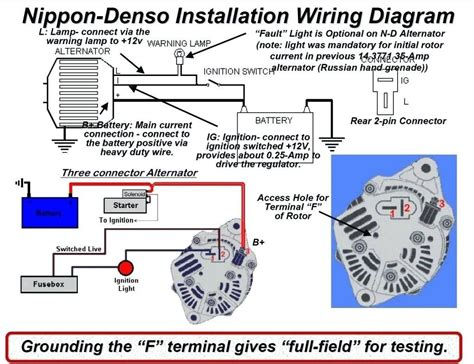 3 Wire Alternator Wiring Diagram Rgulator by 3 Wire Delco Alternator Wiring Diagram Tach Wire Wiring
