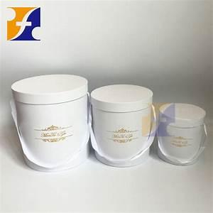 Boite Cadeau Ronde : belle fleur cadeau bo te ronde cylindre emballage de ~ Teatrodelosmanantiales.com Idées de Décoration