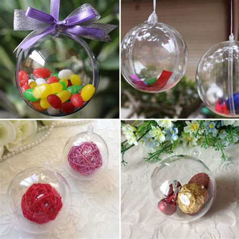 decoration boule plastique transparente high quality wholesale clear plastic ornament balls from china clear plastic ornament balls