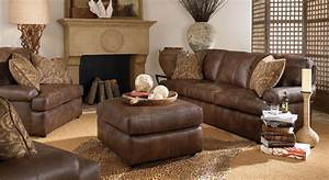 Amusing Leather Living Room Sets For Home – Real Leather