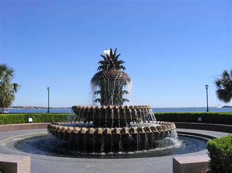 fountains pictures file charleston sc pineapple fountain jpg
