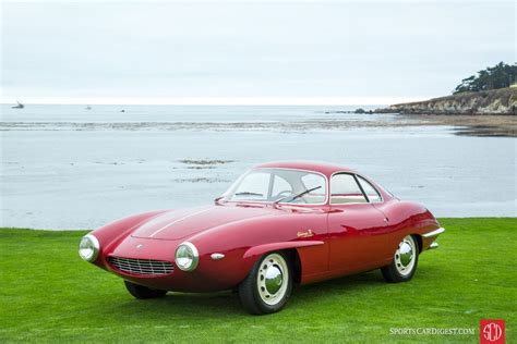 Alfa Romeo Sprint Speciale by Pebble Concours 2016 Picture Gallery