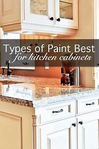 Formerly dark cabinets updated in a soft white lacquer for Best brand of paint for kitchen cabinets with papier peinte