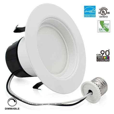 4 inch can lights 12w 4inch wet location retrofit led recessed lighting