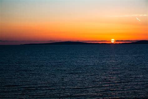 banco de imagens mar costa agua oceano horizonte