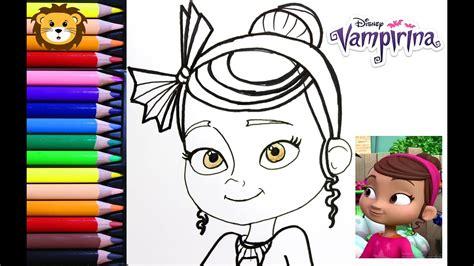 Como Dibujar Poppi Vampirina Disney Dibujos para