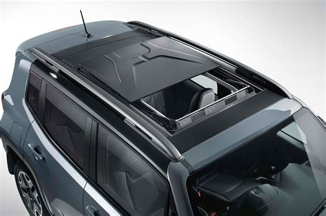 jeep renegade removable roof mopar tuned jeep cherokee wrangler and renegade debut in
