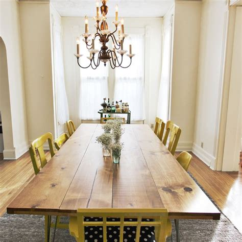 How To Build A Dining Room Table elsie s diy dining room table a beautiful mess