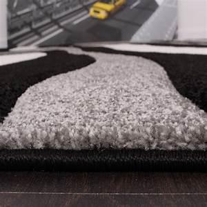 Läufer Schwarz Weiß : bettumrandung l ufer teppich trendig modern grau schwarz weiss l uferset 3tlg teppiche ~ Orissabook.com Haus und Dekorationen