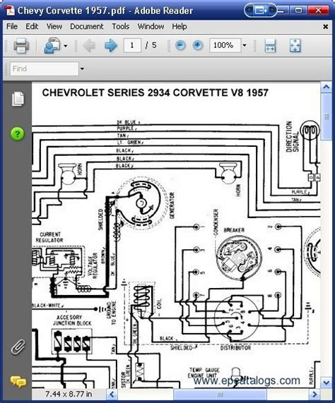car repair manuals online free 1957 chevrolet corvette instrument cluster chevrolet 2934 corvette v8 1957 wiring diagrams download