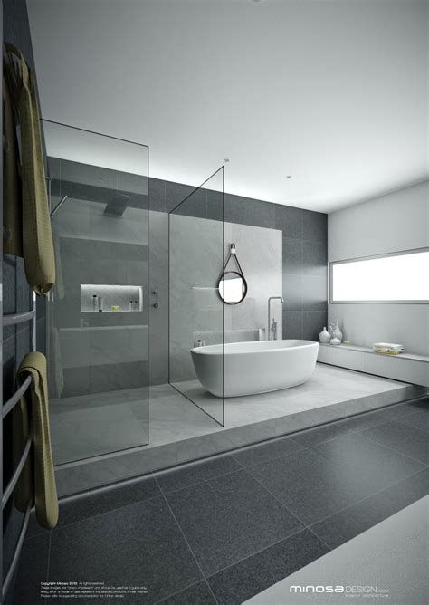 Modern Bathroom Layout by Minosa A Real Showstopper Modern Bathroom