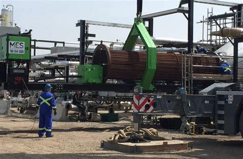 Bundle Pulling Services in Alberta - MES Mechanical Inc.