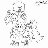 Coloring Universe Steven Pages Characters Comments sketch template