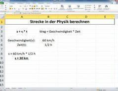 Strecke Berechnen Physik : video strecke berechnen in physik so geht 39 s ~ Themetempest.com Abrechnung