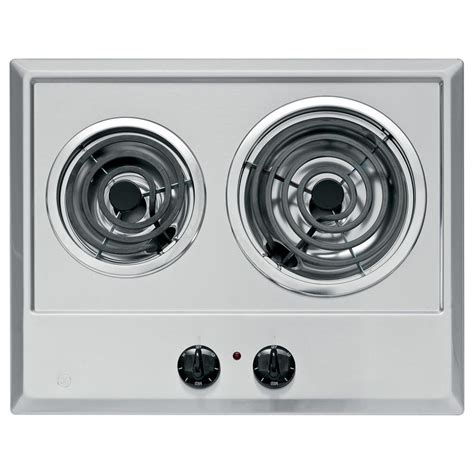 electric cooktop ge coil stainless steel cooktops elements coils depot sears