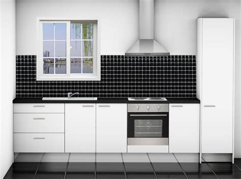Small White Themes Kitchen Studio Design Collections