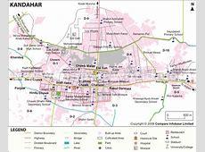 Kandahar Map, Kandahar Afghanistan