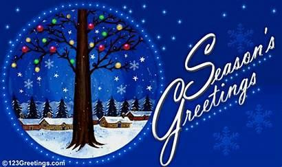 Greetings Seasons Season Wishes Greeting Animated Card