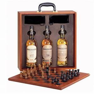 Coffret Whisky Avec Verre : coffret whisky knockando valise echiquier avec 3 whiskies 43 boutique ~ Teatrodelosmanantiales.com Idées de Décoration