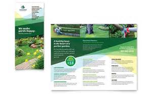 free home design plans landscaper brochure template design