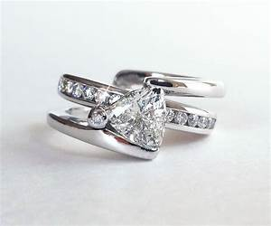 engagement ring slides into wedding band engagement ring usa With wedding rings usa