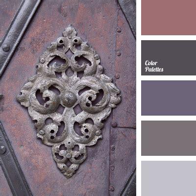 reddish grey color palette ideas