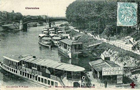 stationnement gratuit bois de vincennes pin by ameline on val de marne 94 bateaux parisiens charenton le pont carte postale photo