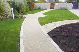 Stunning Gravier Lave Allee Jardin Pictures Design