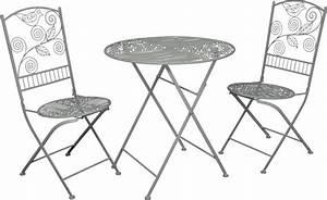 Gartenmöbel Set Metall Günstig : jugendstil gartenm bel set bistro set 1 tisch mit 2 st hlen model palermo antikweiss ~ Eleganceandgraceweddings.com Haus und Dekorationen