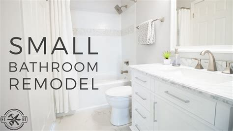 diy small bathroom remodel bath renovation project