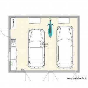 Garage 2 Voitures : garage 2 voitures plan 1 pi ce 40 m2 dessin par mej63 ~ Melissatoandfro.com Idées de Décoration