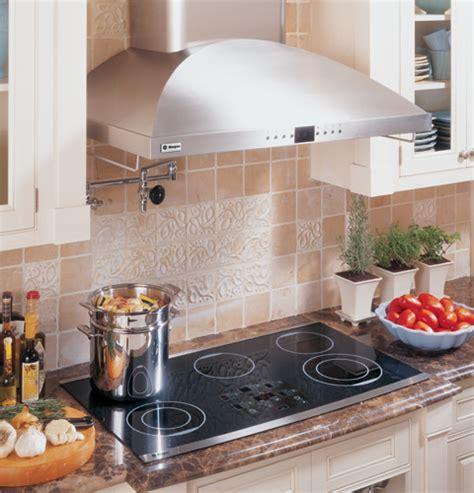 zeursfss series ge monogram  ribbon digital electric cooktop black  stainless steel