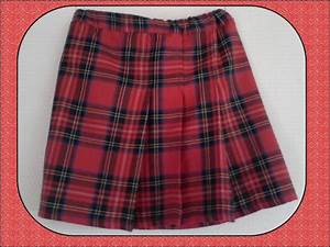 jupe a carreaux rouge noir oumelbanate couture With jupe carreaux rouge