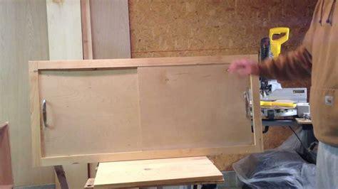 sliding cabinet faceplate  door youtube