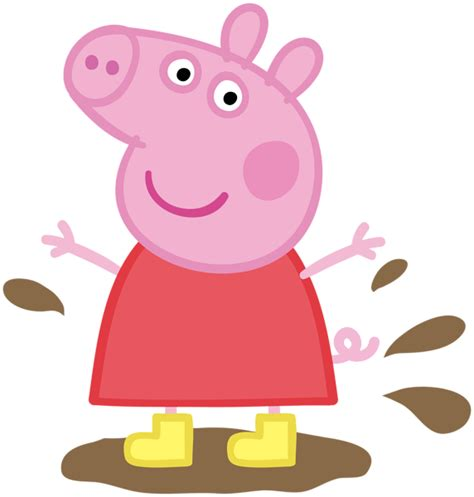 peppa pig muddy puddle transparent png image gallery yopriceville